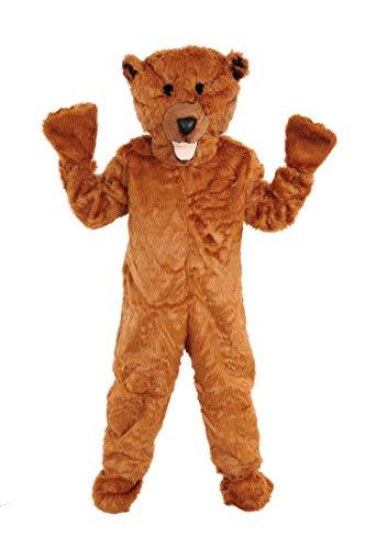 Braunbär Fell Einheitsgrösse L -XL Kostüm Fasching Bär Fasching (Nur Für Erwachsene Kostüm)