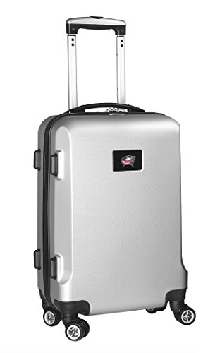 nhl-columbus-blue-jackets-carry-on-hardcase-spinner-silver