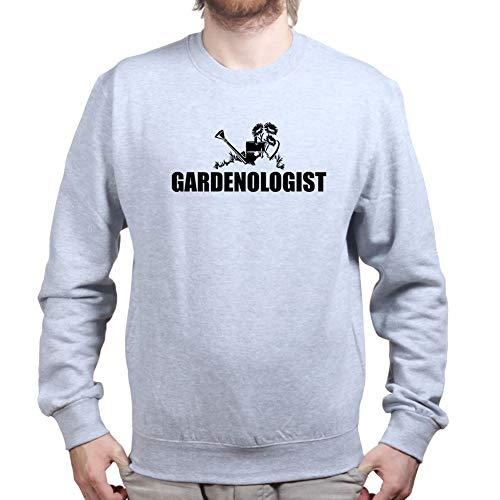 Customised Perfection MensGardenLoverEnvironmentSweatshirtGRY L Sports Grey