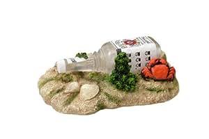 Europet Bernina 234–418833Bourbon Bouteille Aqua Della Décoration pour aquarium, env. 14x 9,5x 6cm