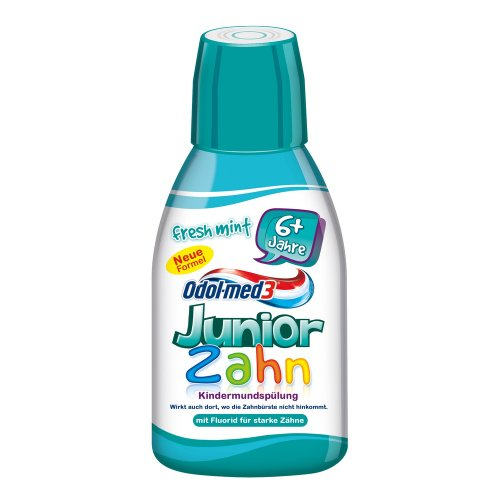 Odol-med 3 Mundspülung Junior Fresh Mint, 300 ml, 1er Pack