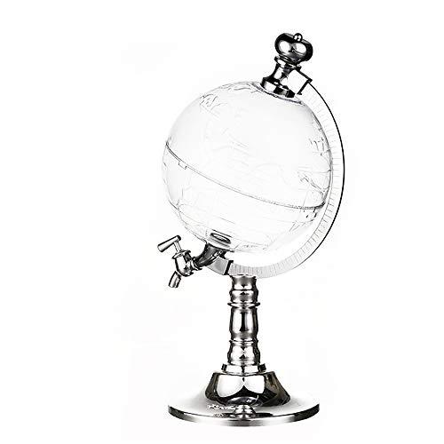 Decantador de vino: separador de vino en forma de globo con base redonda, grifo Diseño innovador Bar Decoración Aireador de vino, accesorios para vino, perfecto para amantes del vino casero