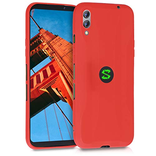 kwmobile Xiaomi Black Shark 2 Hülle - Handyhülle für Xiaomi Black Shark 2 - Handy Case in Rot matt