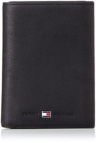 Tommy Hilfiger JOHNSON N/S WALLET W/ COIN POCKET BM56927582 Herren Geldbörsen 10x13x2 cm (B x H x T), Schwarz (BLACK 990)