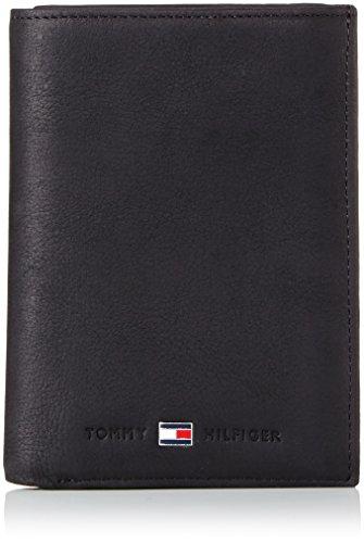 Tommy Hilfiger - Johnson N/S Wallet W/Coin Pocket, Portafoglio Uomo da Uomo, Nero (Schwarz (Black 990)), 10x13x2 cm (B x H x T)