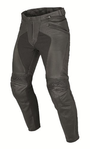*Dainese Pony C2 Leder Motorradhose, Schwarz, Größe 52*