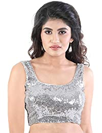 484ec12b9be9f2 Amazon.in: Silvers - Blouses / Ethnic Wear: Clothing & Accessories
