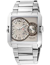 """Police """"Rogue"""" Dualtime P11745MS-61M - Reloj de caballero de cuarzo, correa de acero inoxidable color plata"""