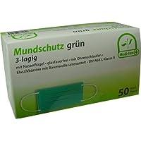 500 Stück (10 x 50) Mundschutz 3-lagig mit Nasenbügel glasfaserfrei mit Ohrenschlaufen von Medi-Inn PZN:07637373... preisvergleich bei billige-tabletten.eu