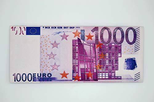 QUATSCHmanufaktur 1000 Euro  Geschenk Schokolade  / Geldschein / Witziges Geschenk  -
