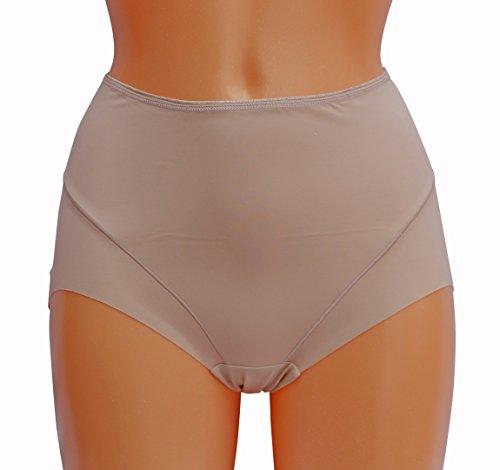 Jockey Damen Miederslip Beige Nude, Beige, 4153 (Shapewear Jockey)