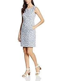 ESPRIT Collection Damen Kleid 056eo1e014 - mit Stretch