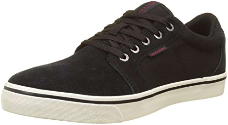 JACK  JONES Herren Jfwdandy Nubuck Anthracite Sneaker