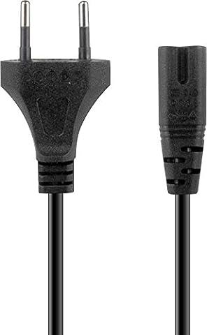 Speedlink Netzkabel für PS4 - WYRE XE Power Cable (auch für PS3 und andere Geräte geeignet - kompakte, flache Stecker - sicherer Halt) 1,8m Kabellänge schwarz