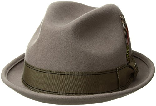 d6d752cc67bafa Brixton Unisex Headwear Gain Fedora, Unisex, 00001, natural, M - Buy Online  in Oman. | Apparel Products in Oman - See Prices, Reviews and Free Delivery  in ...