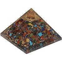 CRAFTSTRIBE 7 Chakra Stein Pyramide Reiki Gemstones Orgon-Energie-Generator Spiritual preisvergleich bei billige-tabletten.eu