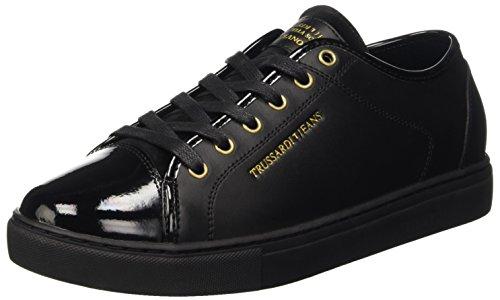 trussardi-jeans-by-trussardi-77s20251-pompes-a-plateforme-plate-homme-noir-noir-41-eu