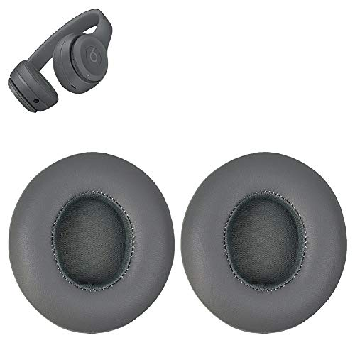 1c0f878f394 Replacement Ear Pads Cushion Earpads Cover Compatible with Solo 3 Solo3  Solo 2 Wireless On Ear