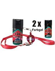 Farb Gel Farbgel Red Dye Personal Self Defence 100% UK Legal Attack Security Emergency Spray (2)