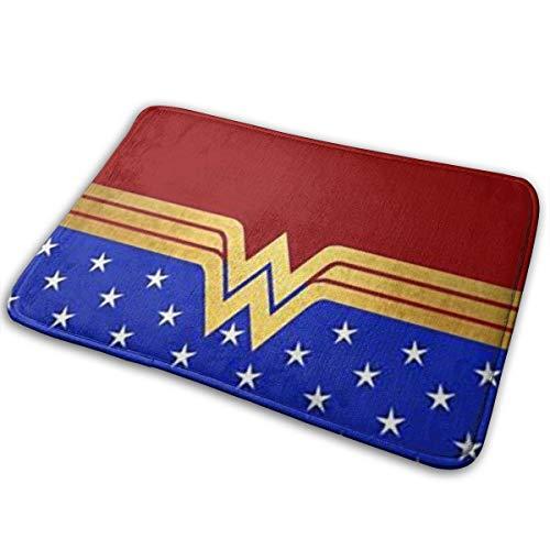 Greatbe Bienvenue Porte Tapis Wonder Woman 2 Intérieur