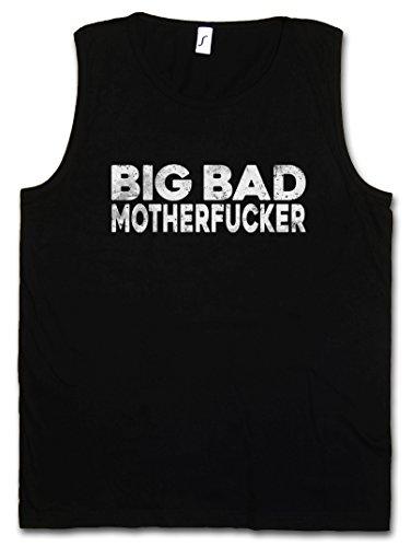 Hustler Top Shirt (Urban Backwoods Big Bad Motherfucker Herren Tank Top Muscle Shirt – Pulp Geldbeutel Mob Mobster Fiction G Hustler Pimp Größen S – 5XL)