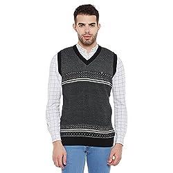 Duke Men Casual Sweater 1968078031 Black Coloured X-Large