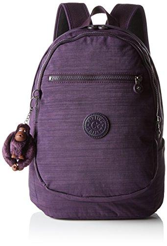 Kipling Clas Challenger, Bolso de Mochila para Mujer, Morado (79W Dazz Purple), 26x36x21 cm (B x H x T)