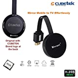 CUBETEK Wecast E68 Wireless Display Dongle for Mirroring , Miracast, Screen Mirroring, Airplay