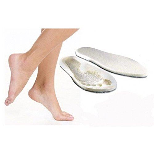 NC Zubehör Schuhe: 1Paar Einlegesohlen weiße/Adapter mit integrierter microSDHC-Form-Größe verstellbar