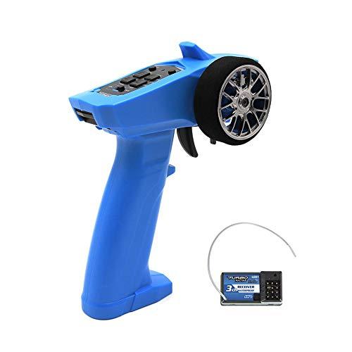 LeKing für Turbo 2.4GHz 3CH 91803G Funkempfänger für RC Car Boat PK TG3 FS-GT3B blau -