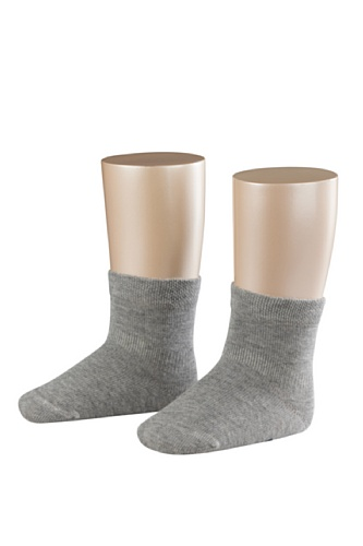 Falke Unisex - Baby Socken Family Sensitive So, Einfarbig, Gr. 74 (Herstellergröße: 74/80), Grau (Light Grey)