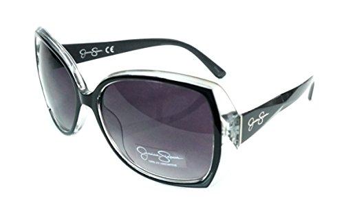 Jessica Simpson J5234-OX Womans Black Oversize Sunglasses ...70