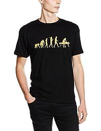 Shirtzshop T-shirt Gold Edition Physiotherapie Physiotherapeut Massage Evolution