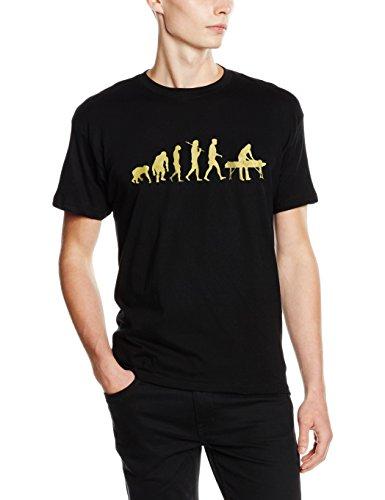 Shirtzshop T-shirt Gold Edition Physiotherapie Physiotherapeut Massage Evolution, Schwarz, XL, 4056543123245 (Massage-t-shirts)