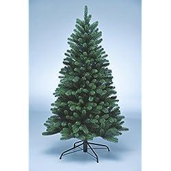 Xenotec Voll PE Weihnachtsbaum künstlich Höhe ca. 150 cm naturgetreu im Spritzgussverfahren Hergestellt