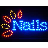 ADV PRO led053-b Nails LED Neon Sign Whiteboard Barlicht Neonlicht Lichtwerbung