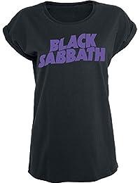 Black Sabbath The End Grim Reaper Camiseta Mujer Negro
