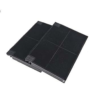 Lot 2 filtres charbons roblin 5403002 23cm x 15cm hotte roblin 5103000