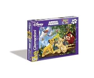 Clementoni 24679.3 - Puzzle Animal Friends 2 x 20 teilig