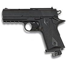 Pistola Co2. Cal. 4.5 mm.  Velocidad de disparo: 130m/s - 427 fps  -(1 Julio)