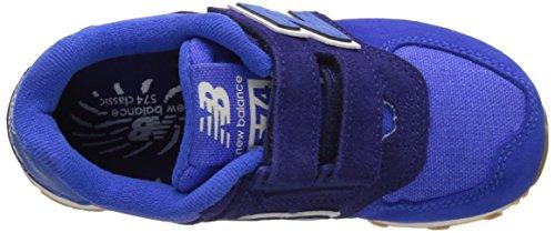 New Balance Kv574esy M Hook and Loop, Sneakers Basses Mixte Enfant Bleu (Blue)