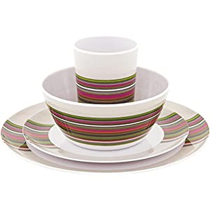 4116tLRG6AL. SS300  - Outwell adult blossom picnic set 2P in magnolia red, one size