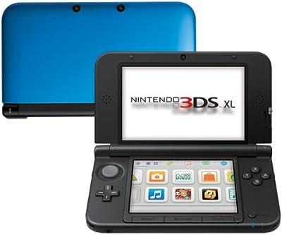 Nintendo 3DS - Consola XL - Color Azul y Negro [Importación italiana]