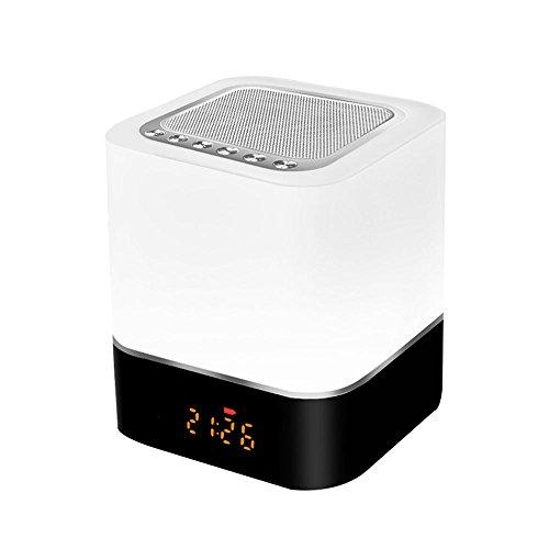 DJSkd Bluetooth Audio Kreative Persönlichkeit Led Nachtlicht Romantische Schlaf Tischlampe Schlafzimmer Nacht Wecker Lautsprecher Musik - Caraudio-empfänger
