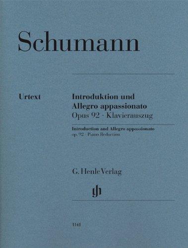 Introduction et Allegro appassionato Opus 92 --- Pianos (2)