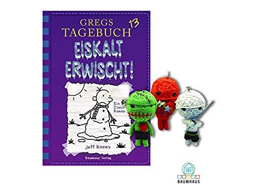 Baumhaus Medien Gregs Tagebuch 13: Eiskalt erwischt! (Gebundenes Buch) + 1. Coole Voodoo Puppe