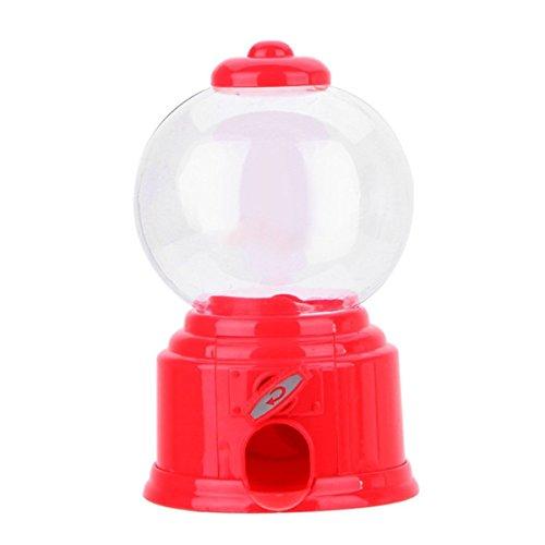 Queenbox Süße Mini Süße Candy Gumball Machine Gelee-Bohnen-Kaugummi-Maschine Snackspender Kinder Spielzeug Kinder Geschenk