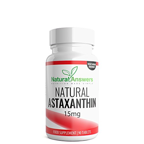 Astaxanthin 15mg 90 Tablets 3 Month Supply Astaxanthin UK Manufactured From Natural Answers Test