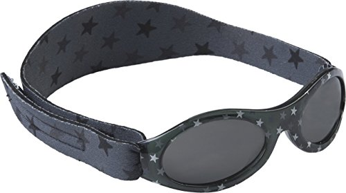 Dooky Baby Banz Baby-Sonnenbrille Grey Star grau