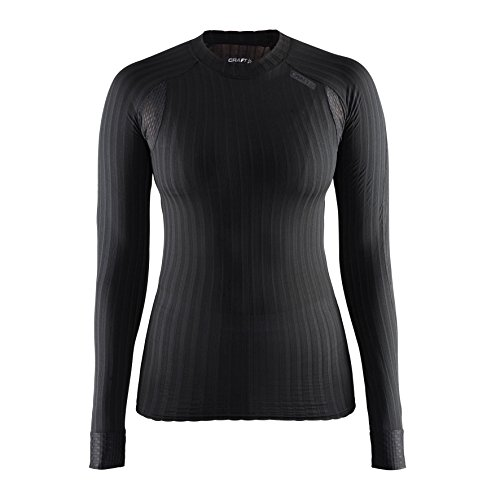 Craft DamenActive Extreme 2.0 CN Baselayer-Top, langärmlig (S) (Schwarz)